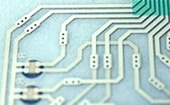 Thru-Hole Silver Flex Circuit