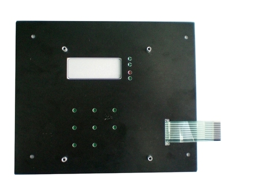 Membrane Switches+Back Panels Support