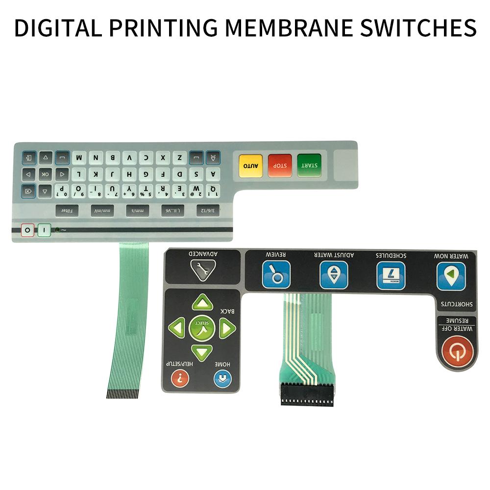 Digital Printing Membrane Switches