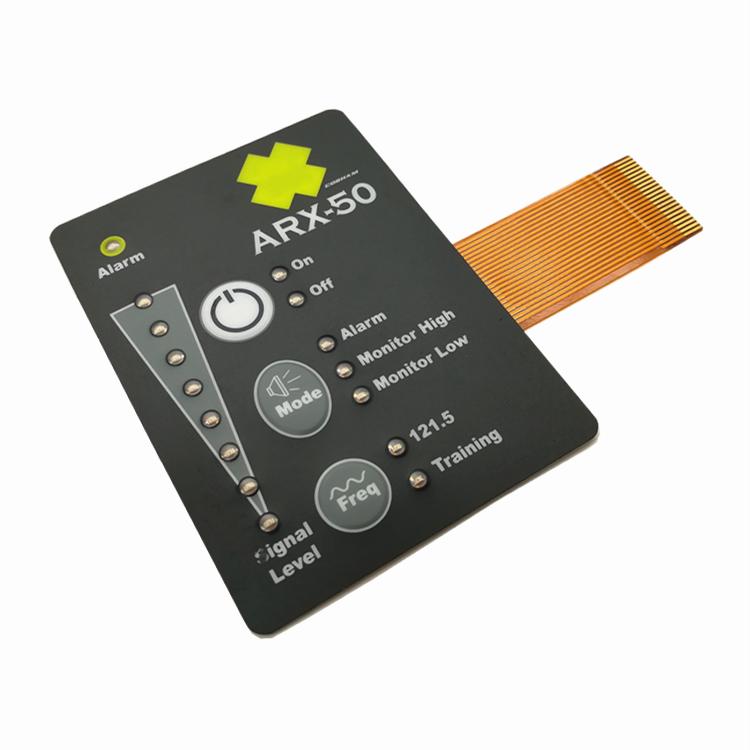 Copper Flex Membrane Switches